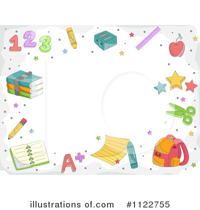 Preschool Borders http://www.illustrationsof.com/1122755-royalty-free-border-clipart-illustration