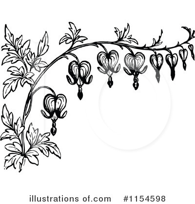 Flowers Clipart #1154598 by Prawny Vintage