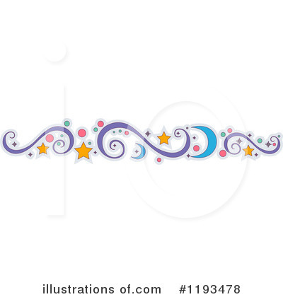 Royalty-Free (RF) Border Clipart Illustration by BNP Design Studio - Stock Sample #1193478