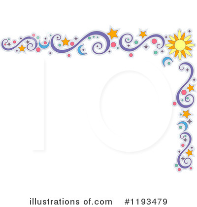 Royalty-Free (RF) Border Clipart Illustration by BNP Design Studio - Stock Sample #1193479