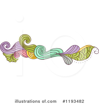 Royalty-Free (RF) Border Clipart Illustration by BNP Design Studio - Stock Sample #1193482