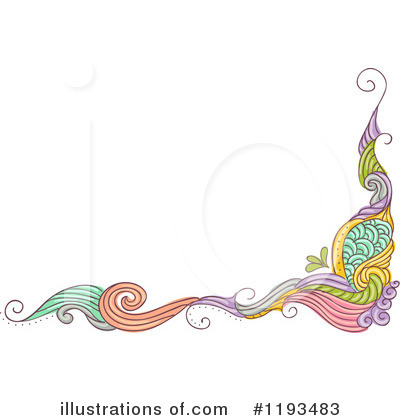 Royalty-Free (RF) Border Clipart Illustration by BNP Design Studio - Stock Sample #1193483