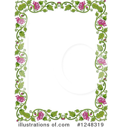Royalty-Free (RF) Border Clipart Illustration by BNP Design Studio - Stock Sample #1248319