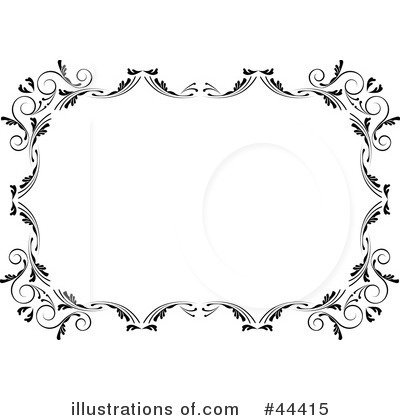 Free Royalty Free on Royalty Free  Rf  Border Clipart Illustration By Frisko   Stock Sample
