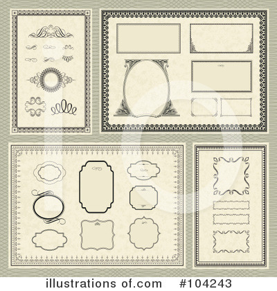 Certificate Clipart #104243 by BestVector