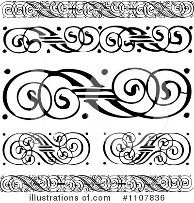 Borders Clipart #1107836 by BestVector