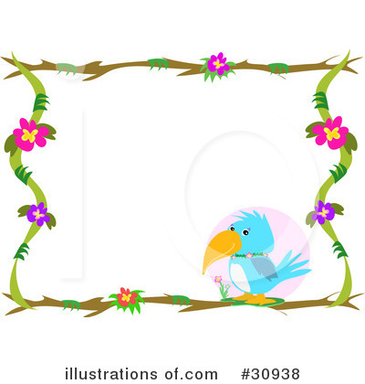 Royalty-Free (RF) Borders Clipart Illustration by bpearth - Stock ...