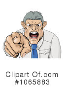 Royalty-Free (RF) boss Clipart Illustration #1065883