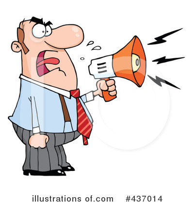 Megaphone Clipart #437014 by Hit Toon