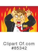 Royalty-Free (RF) boss Clipart Illustration #85342