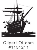Royalty-Free (RF) Boston Tea Party Clipart Illustration #1131211