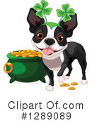 Boston Terrier Clipart #1289089