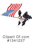 Boston Terrier Clipart #1341237 by Pushkin
