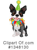 Boston Terrier Clipart #1348130 by Pushkin