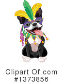 Boston Terrier Clipart #1373856 by Pushkin