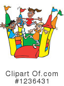 Bouncy House Clipart #1236431