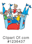 Bouncy House Clipart #1236437