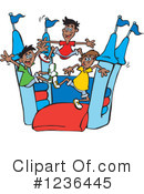 Bouncy House Clipart #1236445