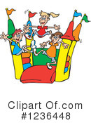 Bouncy House Clipart #1236448