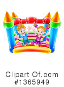 Bouncy House Clipart #1365949