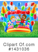 Bouncy House Clipart #1431036