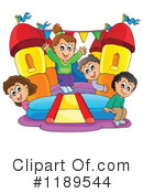 Bouncy Houses Clipart #1189544 by visekart