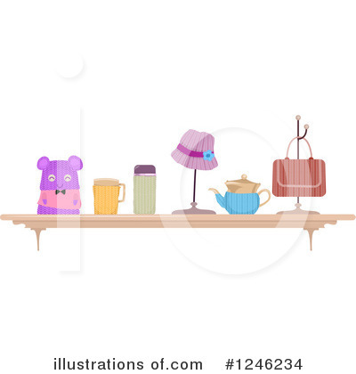 Knitting Clipart #1246234 by BNP Design Studio