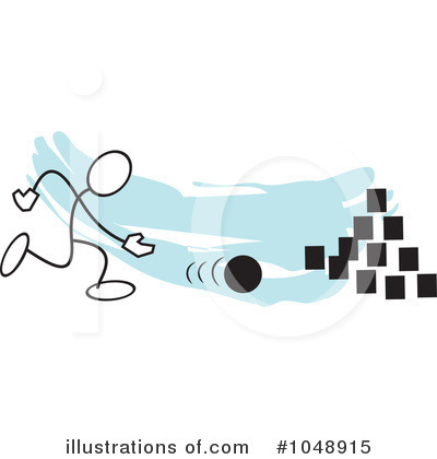 Royalty-Free (RF) Bowling Clipart Illustration by Johnny Sajem - Stock Sample #1048915