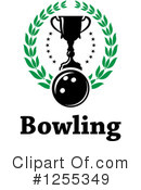 Bowling Clipart #1255349 by Vector Tradition SM