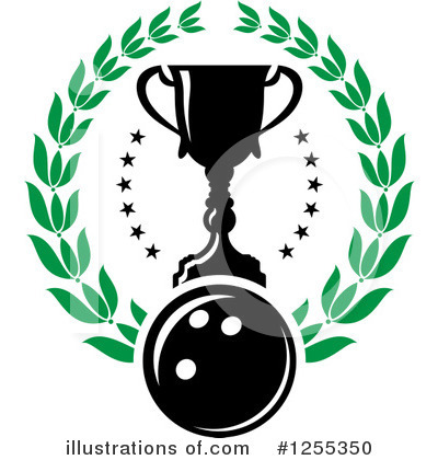 Bowling Clipart #1255350 by Vector Tradition SM