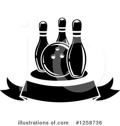 Bowling Clipart #1258736 by Vector Tradition SM