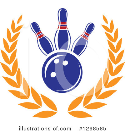 Royalty-Free (RF) Bowling Clipart Illustration by Vector Tradition SM - Stock Sample #1268585