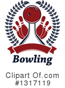 Bowling Clipart #1317119