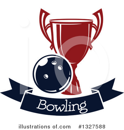 Royalty-Free (RF) Bowling Clipart Illustration by Vector Tradition SM - Stock Sample #1327588