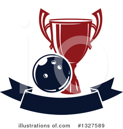 Royalty-Free (RF) Bowling Clipart Illustration by Vector Tradition SM - Stock Sample #1327589