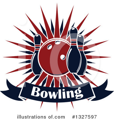 Royalty-Free (RF) Bowling Clipart Illustration by Vector Tradition SM - Stock Sample #1327597