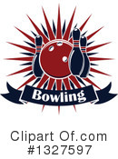 Bowling Clipart #1327597