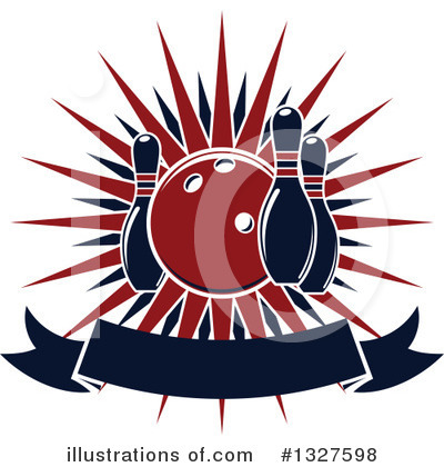 Royalty-Free (RF) Bowling Clipart Illustration by Vector Tradition SM - Stock Sample #1327598
