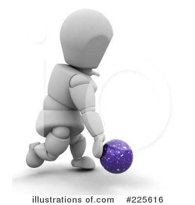 Bowling Clipart #225616 by KJ Pargeter