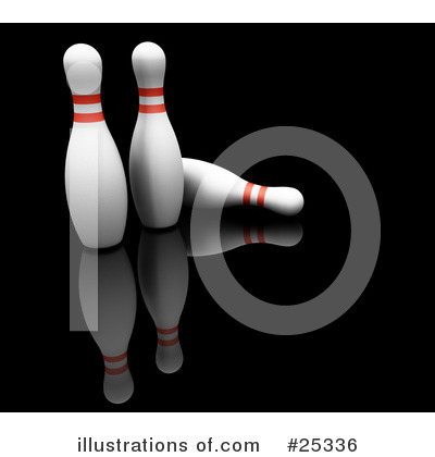 Royalty-Free (RF) Bowling Clipart Illustration by KJ Pargeter - Stock Sample #25336