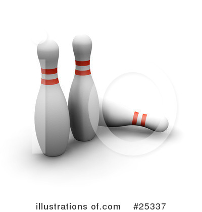 Bowling Clipart #25337 by KJ Pargeter