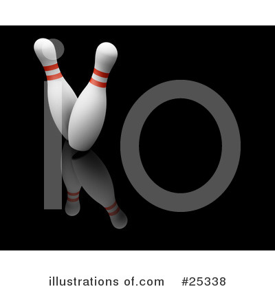 Bowling Clipart #25338 by KJ Pargeter