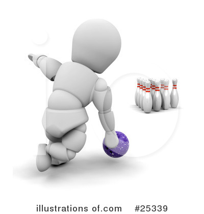 Bowling Clipart #25339 by KJ Pargeter