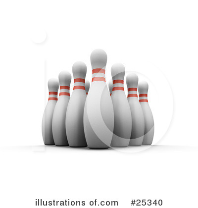 Bowling Clipart #25340 by KJ Pargeter