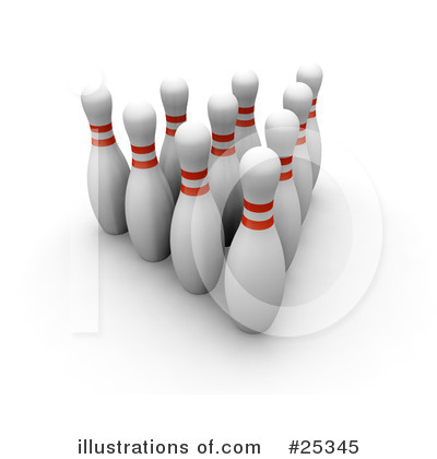 Bowling Clipart #25345 by KJ Pargeter