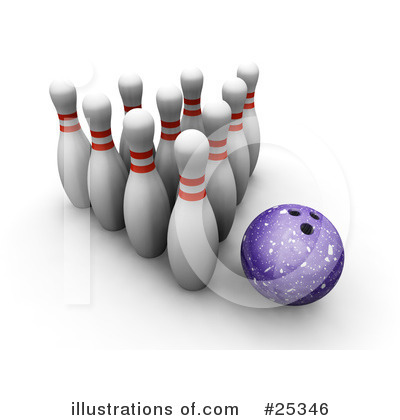 Bowling Clipart #25346 by KJ Pargeter
