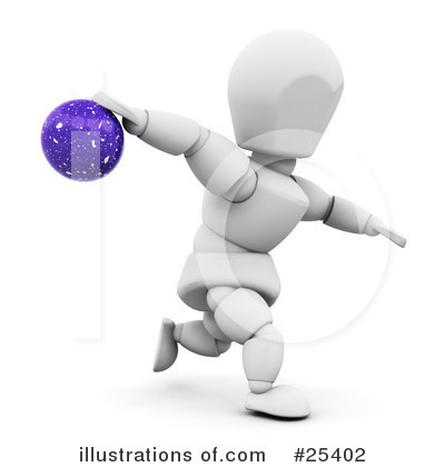 Bowling Clipart #25402 by KJ Pargeter