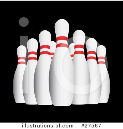 Bowling Clipart #27567 by KJ Pargeter