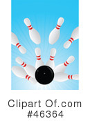 Bowling Clipart #46364