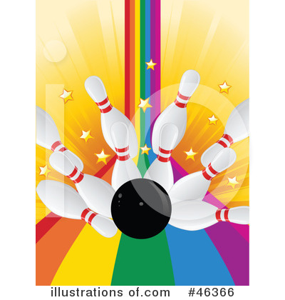 Royalty-Free (RF) Bowling Clipart Illustration by elaineitalia - Stock ...